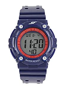 Sonata SF Blue Strap Digital Watch for Men-77042PP04