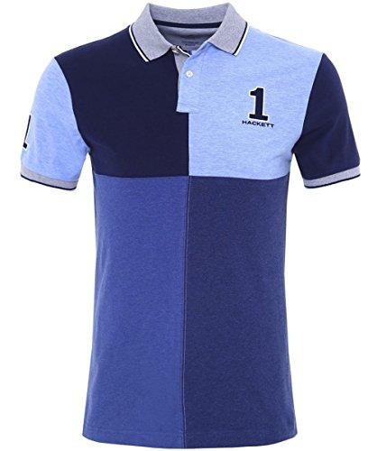 hackett-numrote-quad-polo-shirt-bleu-m