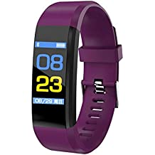 OPTA SB-089 Squats-O Basic Heart Rate and BP Monitor with Color Display Bluetooth Fitness Band Smart Watch for Android and iOS Devices