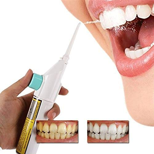 1pc Erwachsene Tragbare Dental Wasser Flosser Powered By Air & Cordless Munddusche Munddusche Zahnreiniger Für Jeden Tag (Power Dental Flossers)
