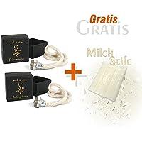 2 x Ashleigh & Burwood Ersatzdocht für große Duftlampe und Gratis Milchseife 25 g preisvergleich bei billige-tabletten.eu