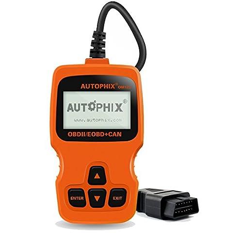 Autophix OBD II Outils de Diagnostic Auto Multimarque Automobile OBD2