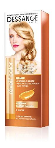 Dessange - Réveil'Color Soin Patine Correction Couleur Pour Cheveux Blonds Colorés - 125 ml