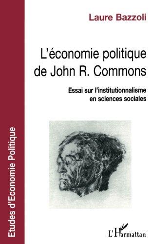 L'économie politique de John R. Commons
