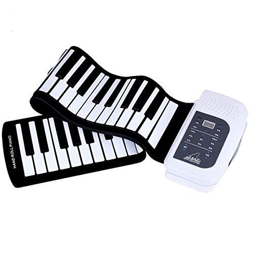 Handrollentastatur XTLbaofu tragbare 88-Tasten-Umweltschutz Multifunktions, geeignet für Kinder Erwachsene Anfänger üben