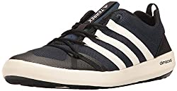 adidas Outdoor Mens Terrex Climacool Boat Water Shoe, Collegiate Navy/Chalk White/Black, 75 M US