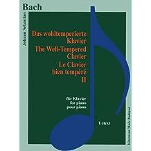 Partition - Bach - Le clavier bien tempéré II - pour piano (2)