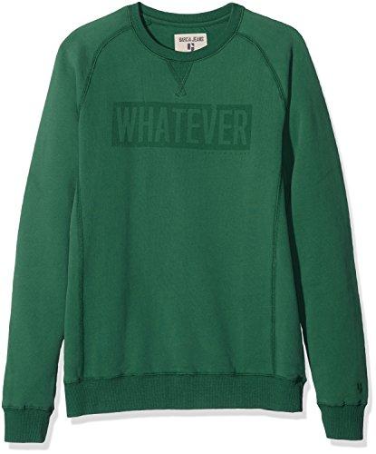 Garcia Kids Jungen Sweatshirt H73661, Grün (Cricket 2319), 164 (Herstellergröße: 164/170)