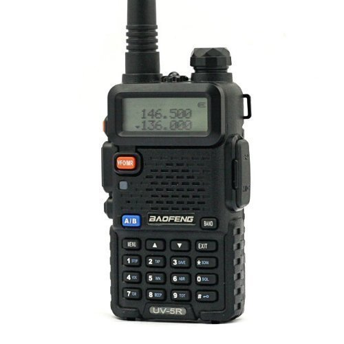 BaoFeng UV-5R VHF/UHF Dual Band Radio 136-174 400-480 Mhz Transceiver + Earpiece