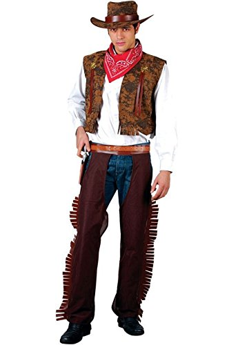 WESTERN COWBOY ADULT COSTUME FANCY DRESS UP ()