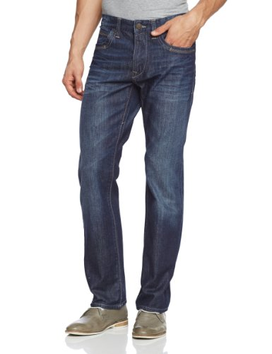 Mavi Herren Jeans Normaler Bund MARTIN; deep weekend denim; 0037815109 Blau (15109; MARTIN; deep weekend denim)