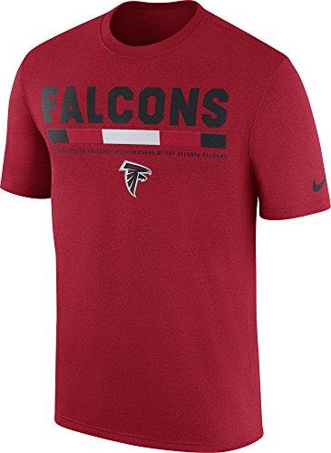 Nike Hombres de Atlanta Falcons diseño 2017 leyenda Personal rojo de alto  rendimiento camiseta 9489c3714