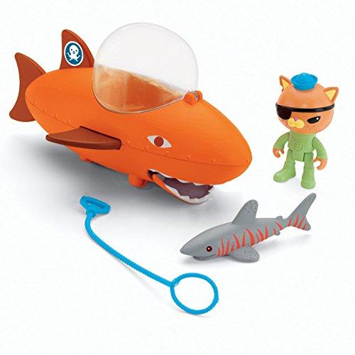 Mattel Octonauts - Juego con Gup-B Kwazii y tiburón
