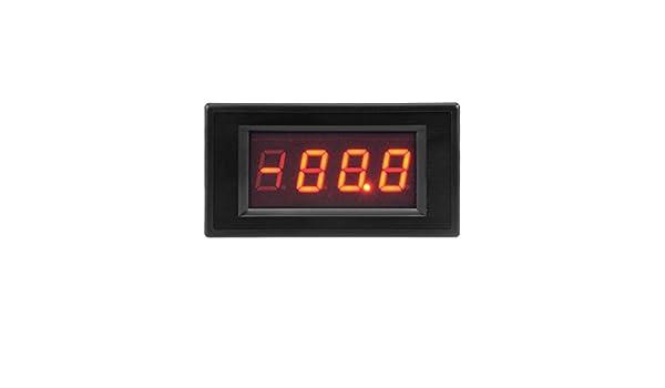 uxcell Digital DC Multimeter Ammeter 200uA Measuring Current Tester with 4 Wires LED Display 1 PCS