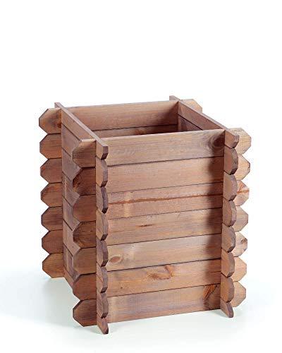 myGardenlust Hochbeet aus Holz – Kräuterbeet Bausatz für Garten Terrasse und Balkon – Pflanzkübel Natur als Gemüse Kräuter Beet – Pflanzkasten Groß für Outdoor