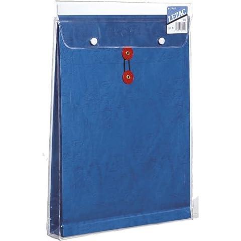 Koharu-do piece envelope with gusset storage bags angle of 0 Rezakku blue vinyl input (japan import)