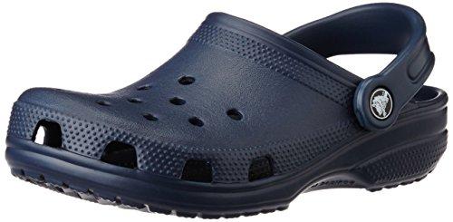 Crocs Classic Sabot K Zoccoli e Sabot, Unisex Bambino, Blu (Navy 410), 27-28 IT (27-29 EU)