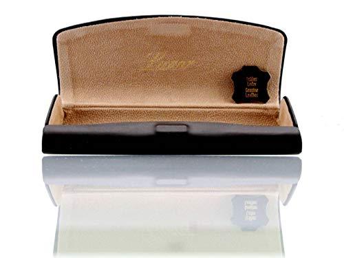 Lunor • Etui • Leder • braun • Größe ca. 150mm x 60mm x 25mm Brillenetui (Brille Steve Jobs)