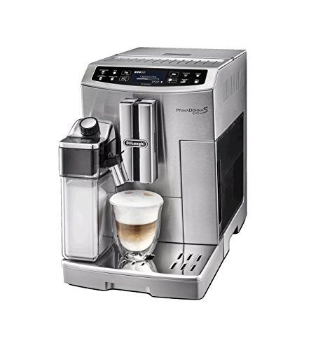 414XePaaCbL - De'Longhi Primadonna S Evo, Fully Automatic Bean to Cup Coffee Machine, Espresso and Cappuccino Maker,Stainless Steel…