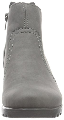 Rieker Damen Y8062 Kurzschaft Stiefel Grau (dust / 42)