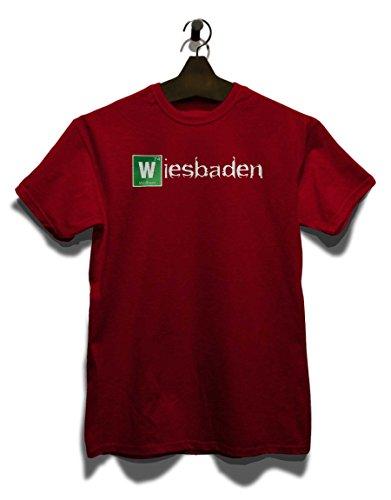 Wiesbaden T-Shirt Bordeaux