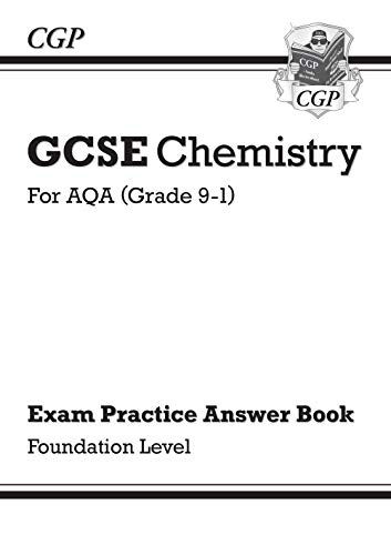 New GCSE Chemistry: AQA Answers (for Exam Practice Workbook) - Foundation