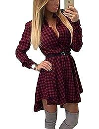 d830119ba644 Amazon.it  camicia donna quadri - Vestiti   Donna  Abbigliamento