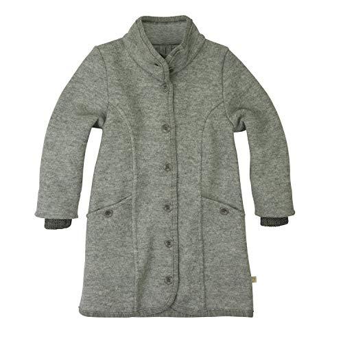 Wolle Mantel (Disana Walk-Mantel Wolle (134/140, grau))