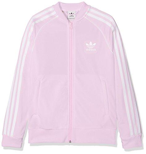 adidas Mädchen SST Originals Trainingsjacke, Aerpnk, 146