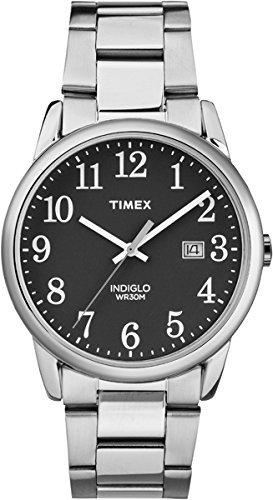 Timex Orologio Analogico Quarzo Uomo con Cinturino in Acciaio Inossidabile TW2R23400