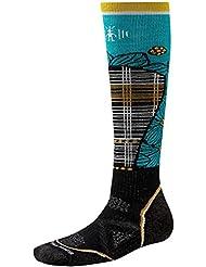 Smartwool PHD Chaussettes de ski à motif pour femme Noir/capri TailleM