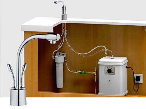Sofort heißes und kaltes gefiltertes Wasser 2-Wege Küchenarmatur-System (Heißgetränke-system)