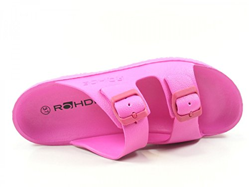Mules Spiaggia 7101 Pink Rohde Femme wEX6v