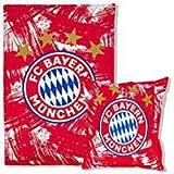 FC Bayern München Bettwäsche rot/weiß 135x200cm, Biber