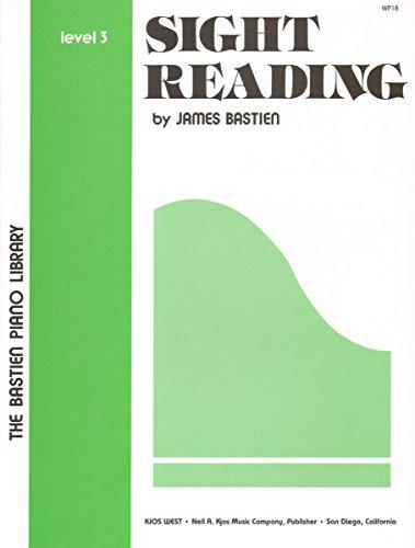 Sight Reading Level 3 (The Bastien Piano Library)