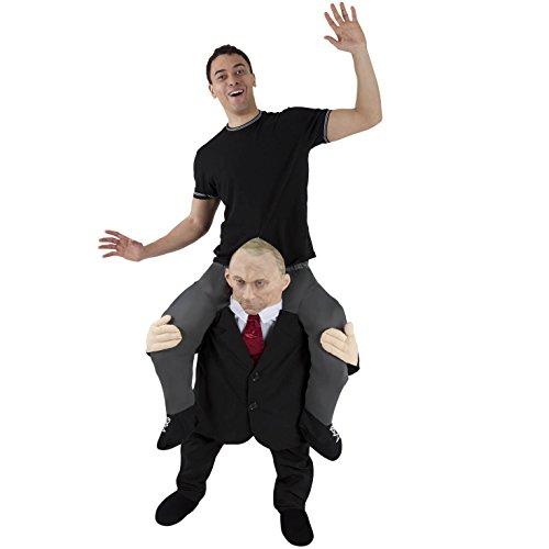 Unbekannt Morph Herren Kostüm Piggyback Adults, Leader Putin, Einheitsgröße