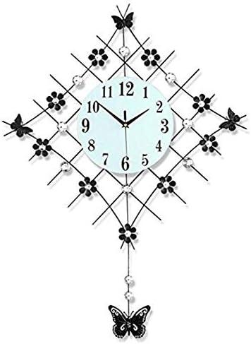 DollylaStore Horloges murales Art Minimaliste Chambre Personnalité Salon Salon Moderne Horloge silencieuse   Outlet Shop En Ligne