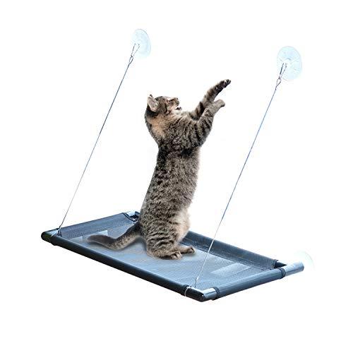 PETCUTE Katzen Hängematten Fensterplätze Katzen hängematten Fenster Katzen Fensterplatz Katze Betten fensterliegeplatz für Katzen Bis zu 10kg