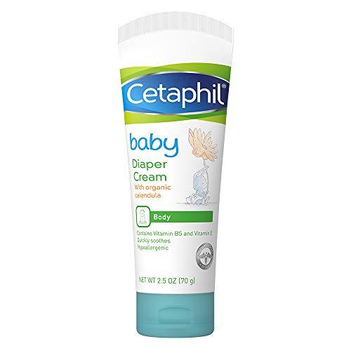 Cetaphil Baby Linderungscreme bei Ausschlag von Windeln, 2,5 oz (70 g) -
