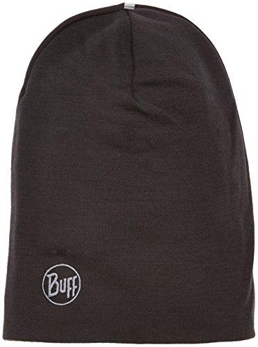 Buff Erwachsene Mütze Merino Thermal Hat, Schwarz, One Size, 111170.999.10.00