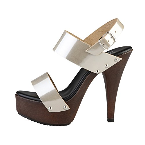 V 1969 Chaussures Sabots Noir
