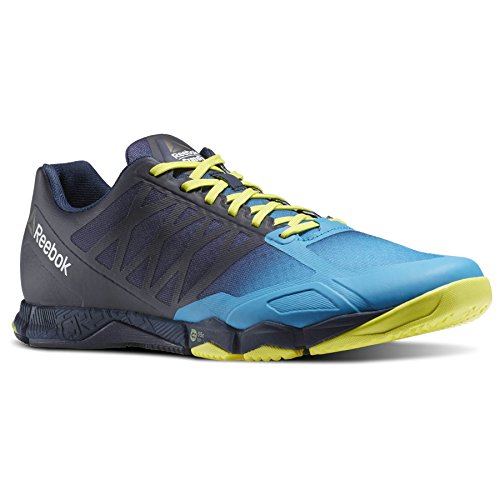 Reebok-Crossfit-Speed-Training-Shoes-Mens-BlueYel-Gym-Fitness-Trainers-Sneaker