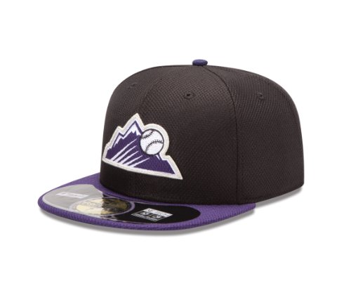 New Era MLB Home Diamond Era 59 Fifty Fitted Cap, 10757144, Colorado Rockies, 7