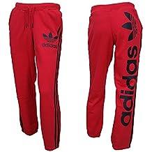 rote adidas jogginghose damen amazon