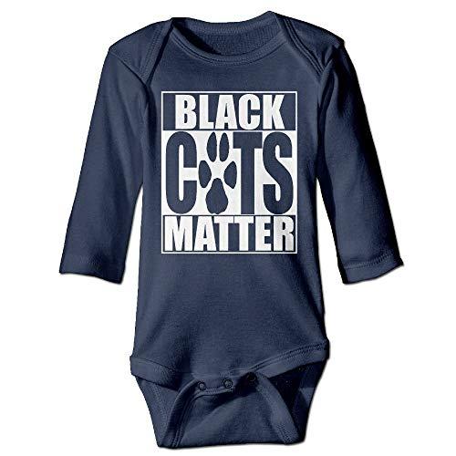 Natasha Scott Schwarze Katze Halloween 1 Long Sleeves Newborn Baby Spezial Baby Klettern Kleidung Größenschlüssel