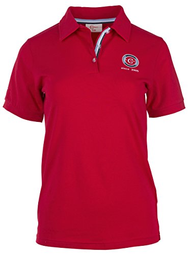 Covalliero Damen Poloshirt Bridget für Größe 42 T-Shirt, Red, XL