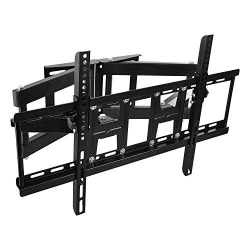 TV Wandhalterung Universal für 40-70 Zoll (ca. 101-178cm) Schwenkbar Neigbar Wand Halter Aufhängung Fernseh Halterung auch für Curved LCD und LED Fernseher | VESA 400x400 400x600 6-Arme-Design (40-zoll-led-tv Vizio)