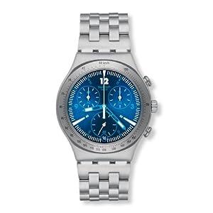 Reloj Swatch YCS575G de cuarzo unisex con correa de acero inoxidable, color plateado de Swatch