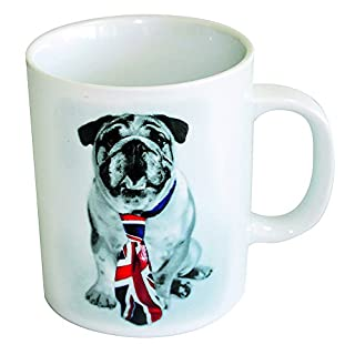 Amour Passion Giant Dog Tie with Union Jack Design