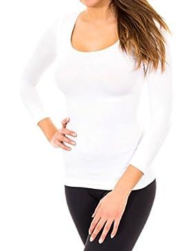 Camiseta manga larga sin costuras